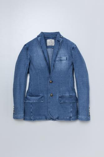 Denim Sweat Jacket