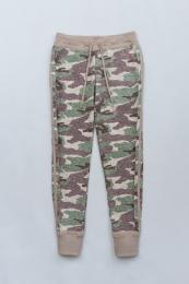 Camouflage Pile Pants KH