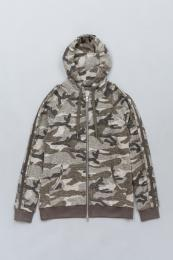 Camouflage Pile Hoody GY
