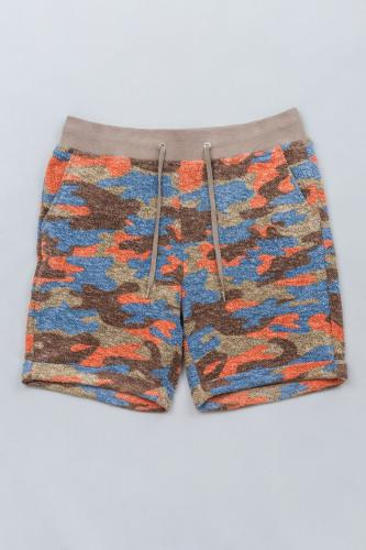 Camouflage Pile Shorts OR