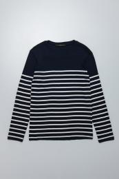 Border Long sleeve T -shirts NY