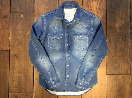 Sweat Denim Shirts
